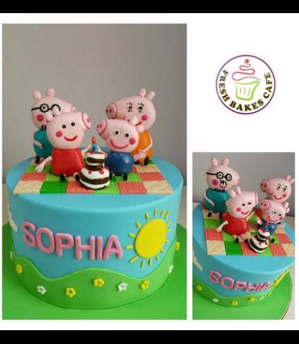 Peppa Pig Themed Cake 07