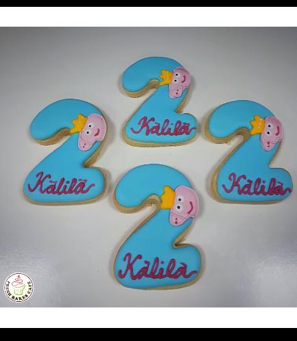 Peppa Pig Themed Cookies 01