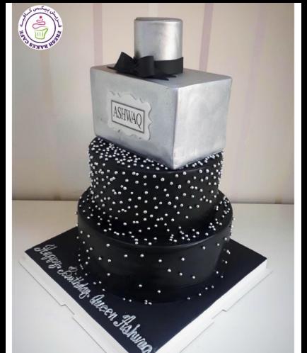 Perfume Themed Cake 01a