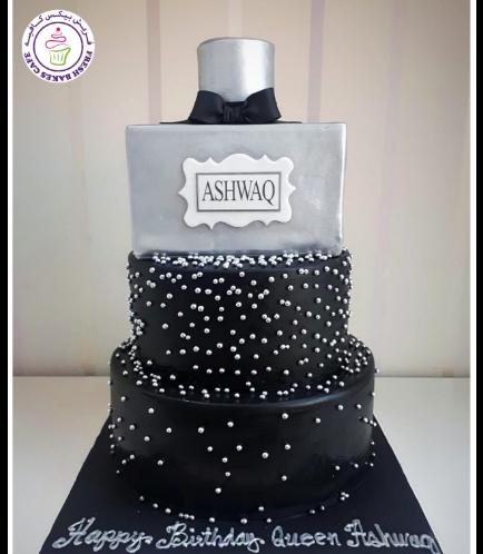 Perfume Themed Cake 01b