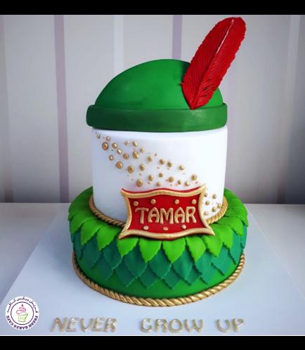 Peter Pan Themed Cake 01