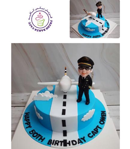 Pilot Themed Cake 07