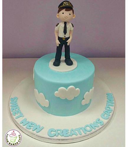 Pilot Themed Cake 04