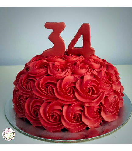 Cake - Color - Red