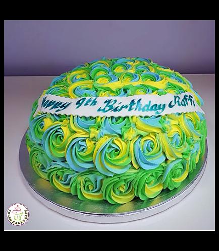 Cake - Colors - Multicolors 02