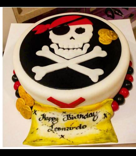Pirates Themed Cake 03