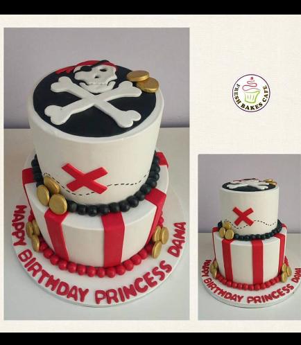Pirates Themed Cake 05