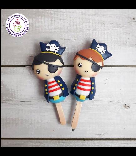 Pirates Themed Popsicakes
