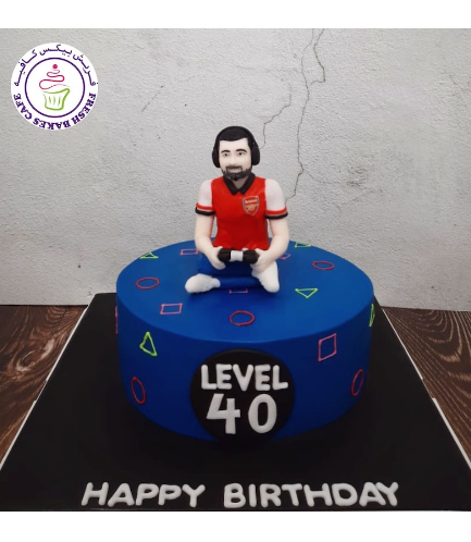 PlayStation Themed Cake - 3D Character