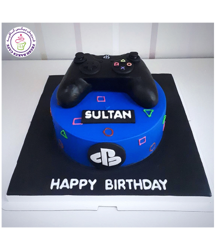 PlayStation Themed Cake 02