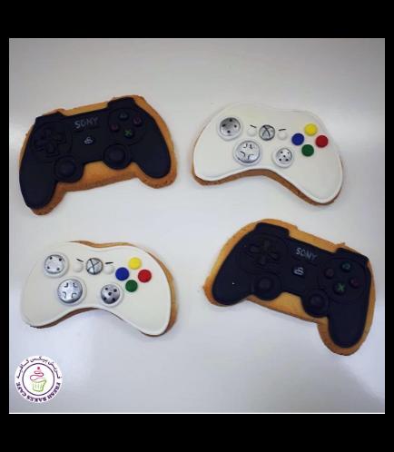 PlayStation & XBox Joystick Themed Cookies