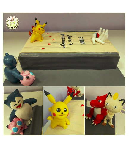 Cake - 3D Cake Toppers - Bowling