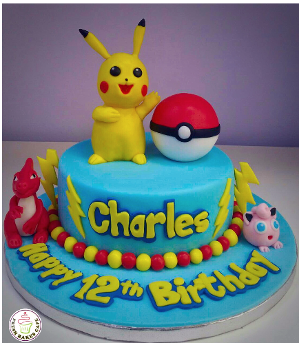 Cake - 3D Cake Toppers - 1 Tier 08