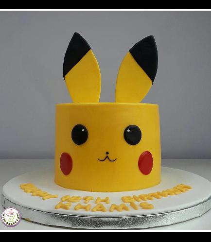 Cake - Pikachu 01