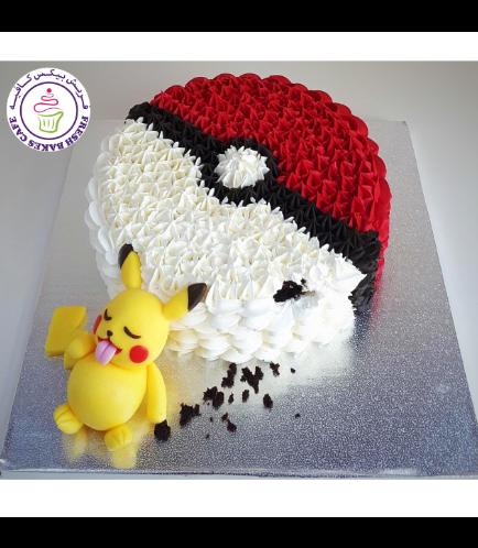 Cake - Pikachu - Hungry Pikachu