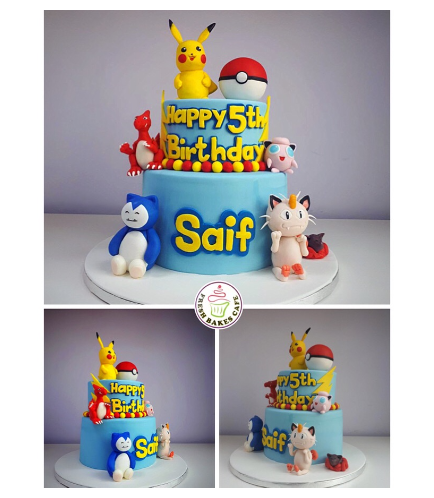 Cake - 3D Cake Toppers 02b