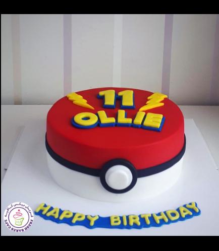 Cake - PokeBall - 2D Cake 01