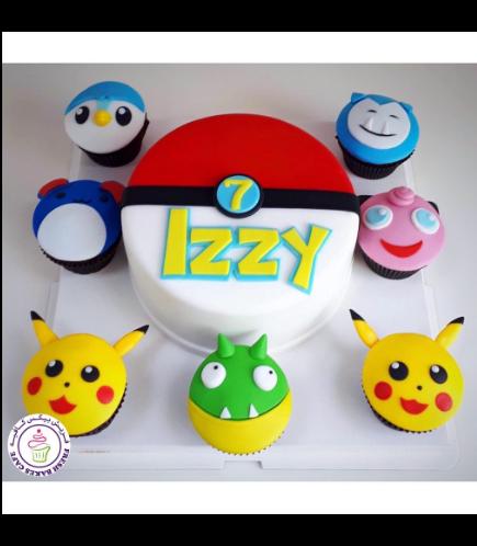 Cake - PokeBall - 2D Cake 02