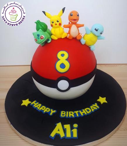 Cake - PokeBall - 3D Cake & 3D Characters