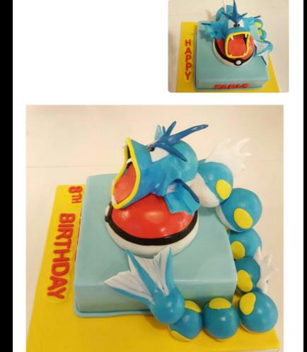 Cake - 3D Cake Toppers - Gyarados