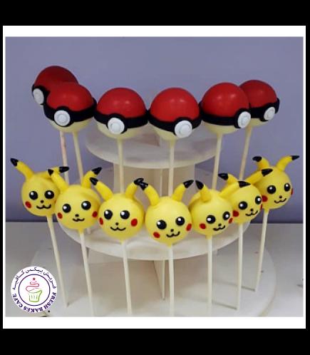 Cake Pops - Pokeball & Pikachu