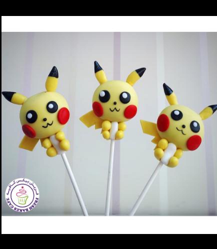 Cake Pops - Pikachu