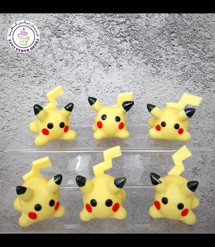 Cake Pops w/o Sticks - Pikachu