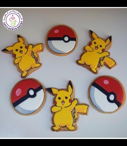 Cookies - Pokeball & Pikachu
