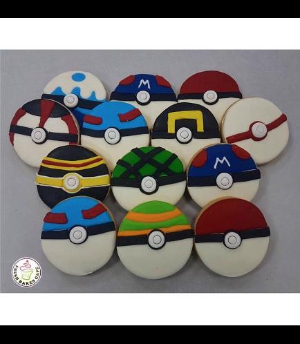 Cookies - Pokeballs
