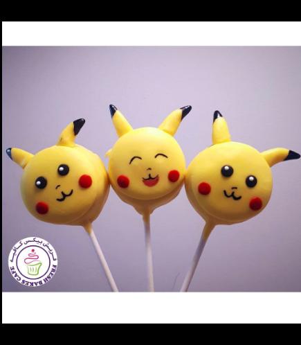 Donut Pops - Pikachu