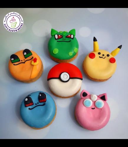 Pokemon Themed Donuts 01