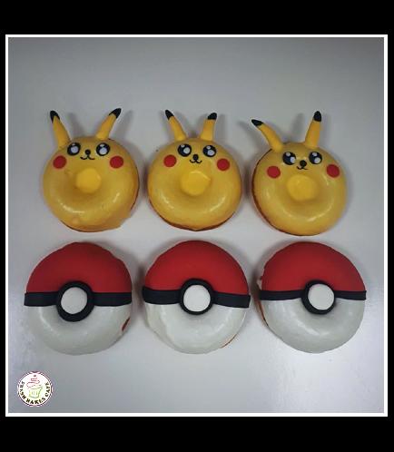 Donuts - Pikachu & Pokeball