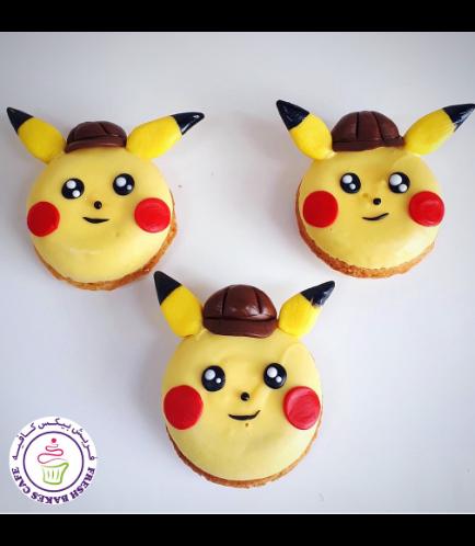 Pokemon Themed Donuts - Pikachu