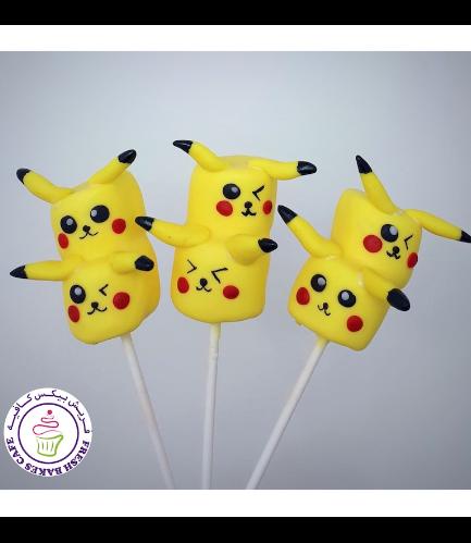 Marshmallow Pops - Pikachu 02