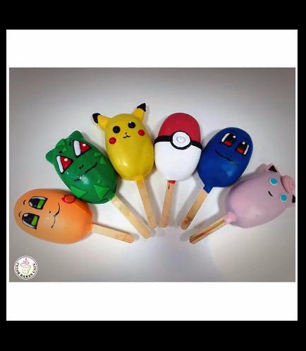 Pokemon Themed Popsicakes 1