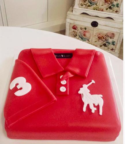 Polo Shirt Themed Cake