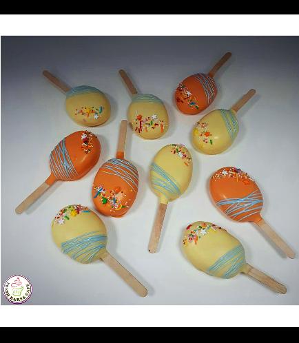 Popsicakes with Sprinkles
