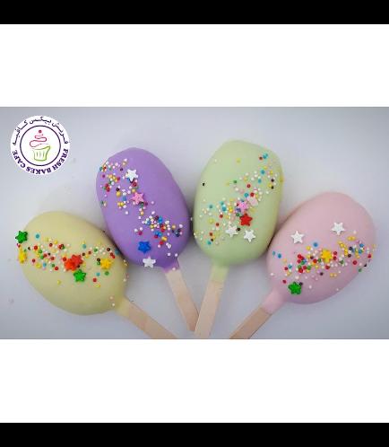 Colored Popsicakes - Pastel