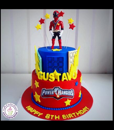 Power Rangers Themed Cake 03