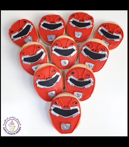 Power Rangers Themed Cookies
