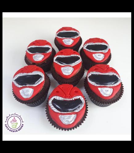 Power Rangers Themed Cupcakes 02
