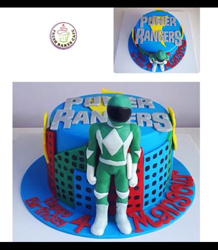 Power Rangers Themed Cake 01