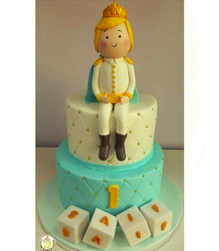 Prince Themed Cake