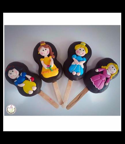 Princesses Themed Popsicakes 01