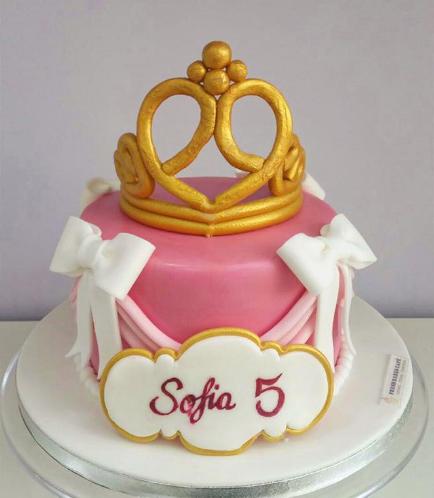Sleeping Beauty Themed Cake