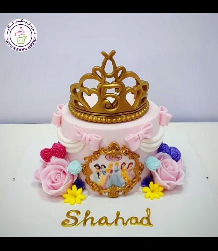 Cake - Princesses - 1 Tier 02