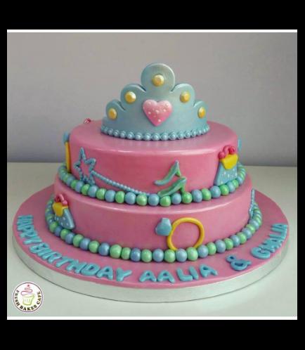 Princesses Themed Cake 04