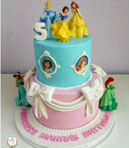 Princesses Themed Cake 05
