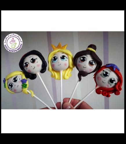 Princesses Themed Cake Pops 03