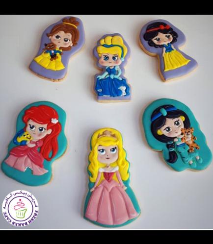 Princesses Themed Cookies 04b